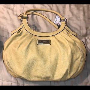Strada Leather Handbag NWT Yellow